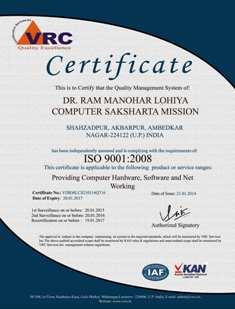 computer certificate format